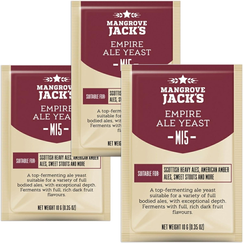 Mangrove Jacks Craft Series Yeast M15 Empire Ale 10g
