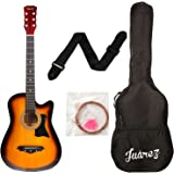 JUAREZ JRZ38C Right Handed Acoustic Guitar (Sunburst, 6 Strings)