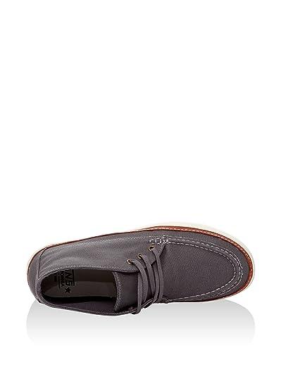 Vans Botines U Mesa Moc Ca Gris Oscuro EU 36.5: Amazon.es: Zapatos y complementos