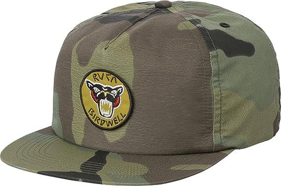huge discount 0f307 15885 ... get rvca birdwell birdie bomber snapback hat camo one size 9cd86 de49e