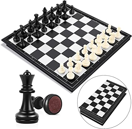 Magnetic Travel Chess Set With Folding Chess Board Educational Toys For Kids /_UK