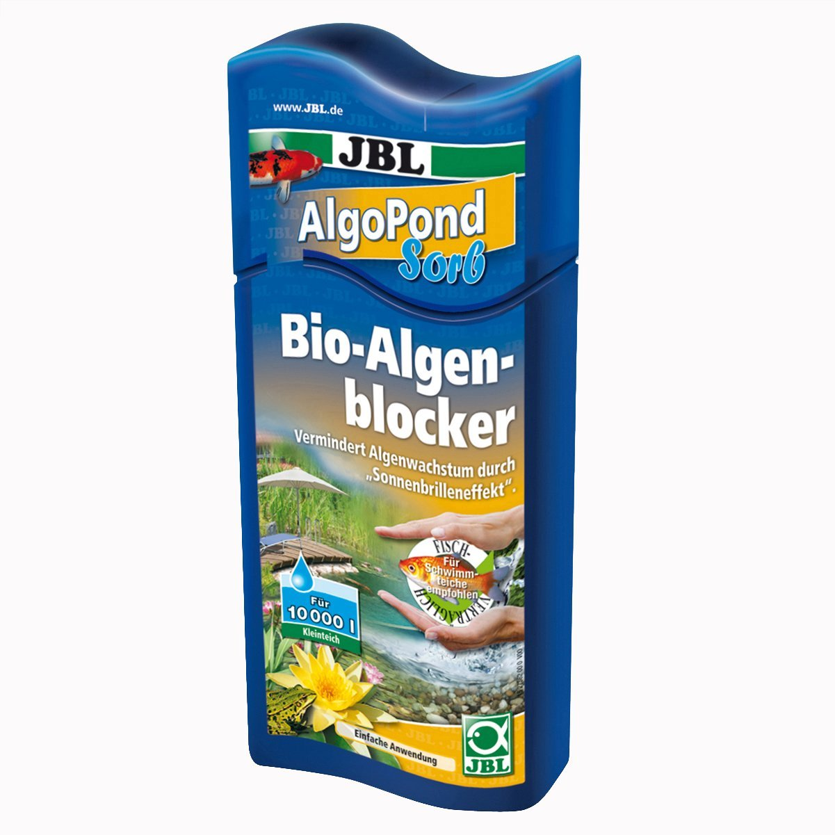 JBL Biologico Alghe Blocker per Laghetto, algopond Sorb