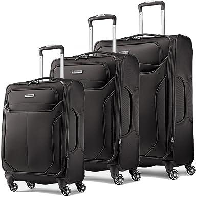 Amazon.com | Samsonite Lift2 3 Piece Luggage Set (One size, Black ...