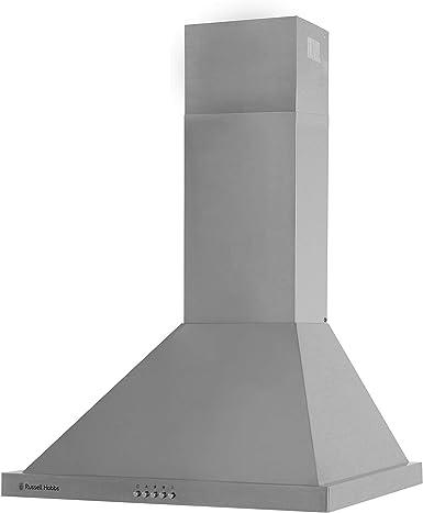 Russell Hobbs RHSCH601SS - Campana de cocina con 5 luces LED de 60 cm de ancho, acero inoxidable: Amazon.es: Grandes electrodomésticos