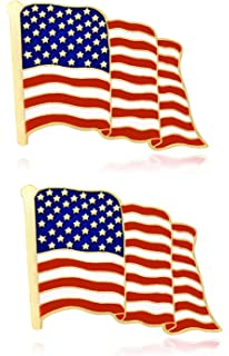 Amazon com: Forge American Flag Lapel Pin Proudly Made in