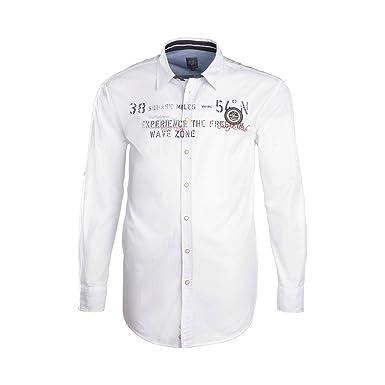 Herren Freizeit Hemd langarm von Kitaro 100/% Baumwolle in Übergrößen 3XL 8XL