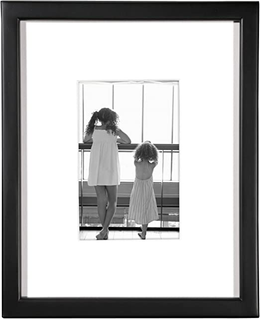MCS East Village Collage 11 by 14-Inch Frame with 2 4-Inch by 6-Inch Openings Black
