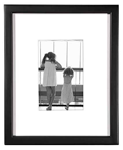 Mcs East Village 8 X 10 Black Frame With One 4x6 Mat Opening Amazon