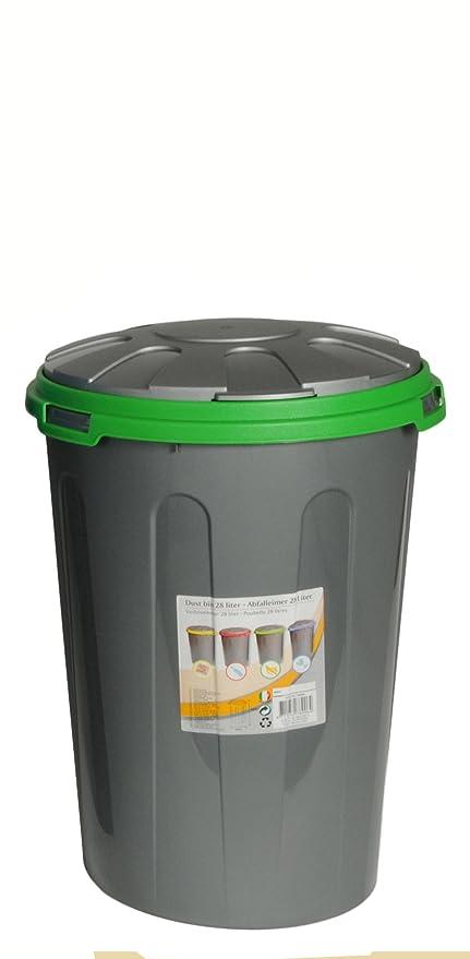 28 litros polvo papelera