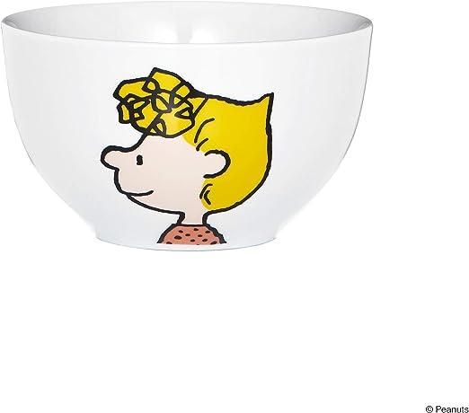 BUTLERS PEANUTS Müslischale Linus Frühstücksschale Porzellan 14 x 14 x 8 cm
