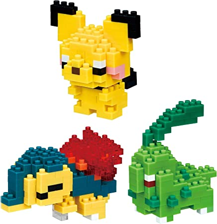 NEW NANOBLOCK POKEMON PICHU Building Block Nanoblocks Nano NBPM 028