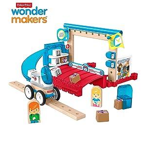 Fisher-Price Wonder Makers Design System Special Delivery Depot