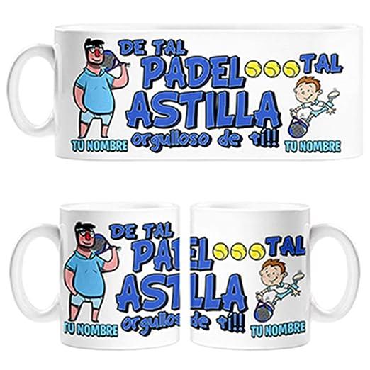 Diver Bebé Taza de Tal Palo Tal Astilla Jugador de Padel ...