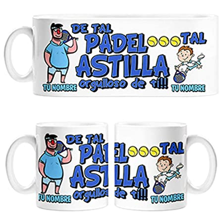 Diver Bebé Taza de Tal Palo Tal Astilla Jugador de Padel Hijo ...