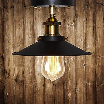 Vintage Deckenleuchte Frideko Retro Stil Industrie Deckenlampe