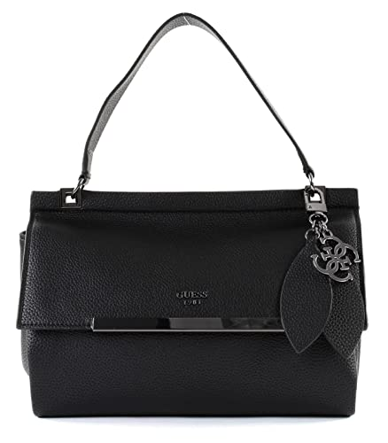 quality design 15f51 8f311 GUESS Lou Lou Top Handle Flap Black: Amazon.de: Schuhe ...