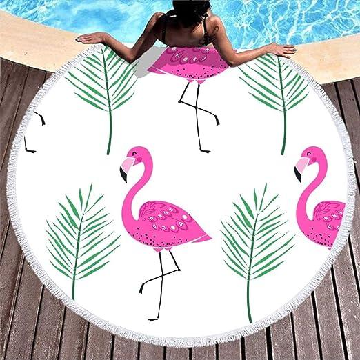 Shinelly - Esterilla de Yoga, diseño de flamencos, Mandala ...