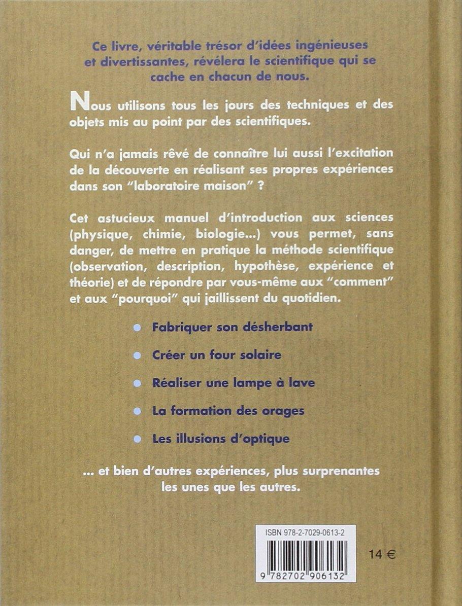 Amazon.fr - 101 expériences étonnantes à faire chez soi - Rob Beattie -  Livres