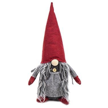 Handmade Swedish Tomte Christmas Gnome - Christmas Ornaments Gifts Holiday Home Table Decor