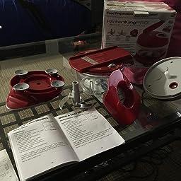 kitchen king manual food processor