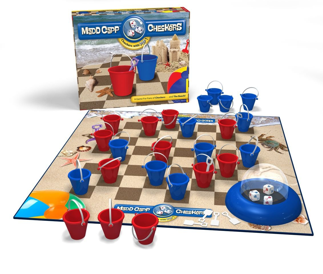 Beach Lovers Edition Madd Capp Checkers