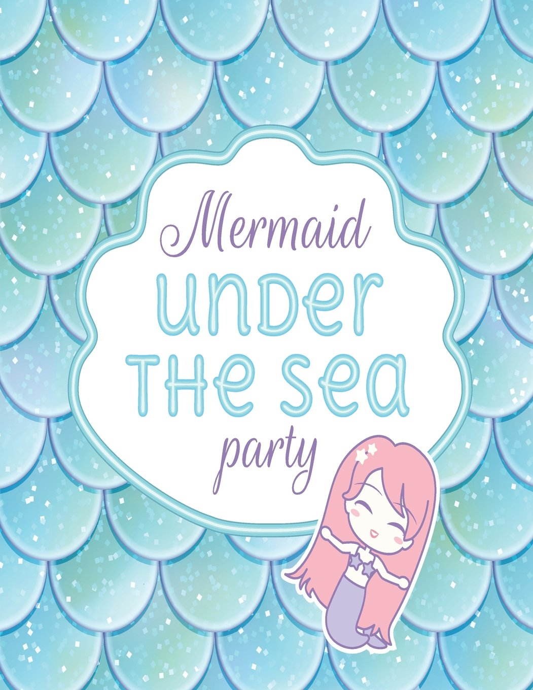 Download Mermaids under the sea party: Mermaids on blue cover and Dot Graph Line Sketch pages, Extra large (8.5 x 11) inches, 110 pages, White paper, Sketch, ... Paint (Mermaids on blue notebook) (Volume 2) pdf