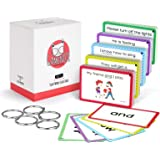 Sight Words Flash Cards with Pictures & Sentences