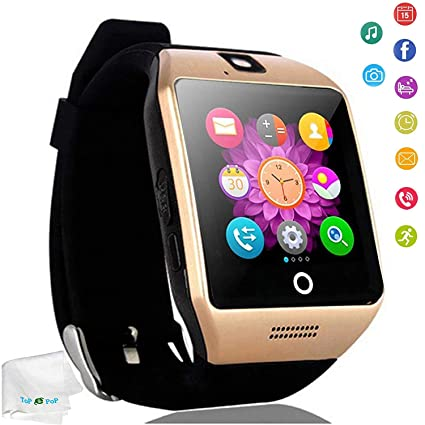 Touch Screen Smart Watch Bluetooth Wrist Watch Pedometer Fitness Tracker Smartwatch Sleep Monitor Compatible Android Cell Phones Samsung Galaxy S8 S9 ...