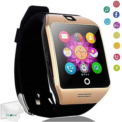 Amazon.com: Reloj inteligente con Bluetooth con ranura para ...
