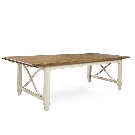 Amazon.com: Panama Jack Millbrook Dos Tono mesa de comedor ...
