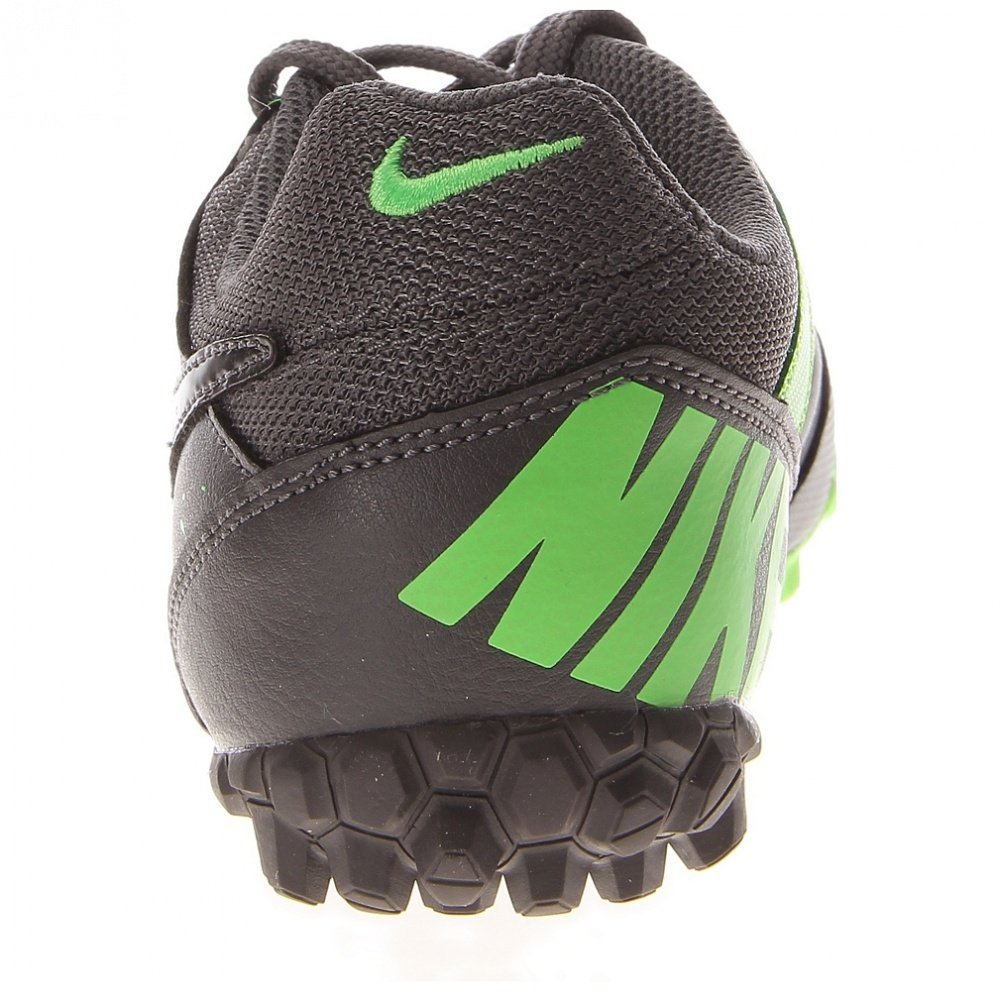 0768905e0 Amazon.com: Nike JR Nike5 Bomba Indoor Soccer Shoe green/grey size 11: Shoes