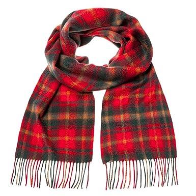 b33140b1dbca Écossaise 100 % cachemire homme luxe écharpe scotland tartan - Beige -  taille unique