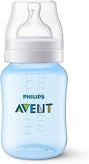 Mamadeira 260 ml Clássica,  Philips Avent, Azul