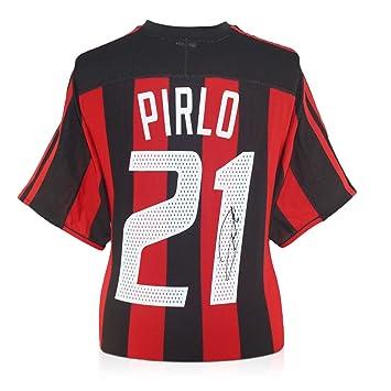Andrea Pirlo Firmado 2003-04 camiseta del AC Milan Fútbol