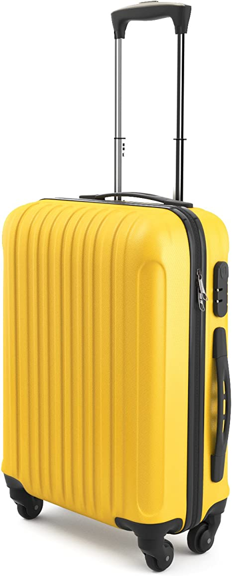 Ryanair Easyjet dur cabine 4 Roues Spinner Trolley Valise Bagage Sac étui