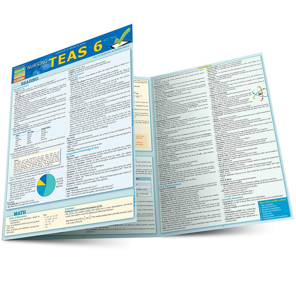Nursing Teas Guide (Quick Study Academic): 9781423225959: Medicine & Health  Science Books @ Amazon.com