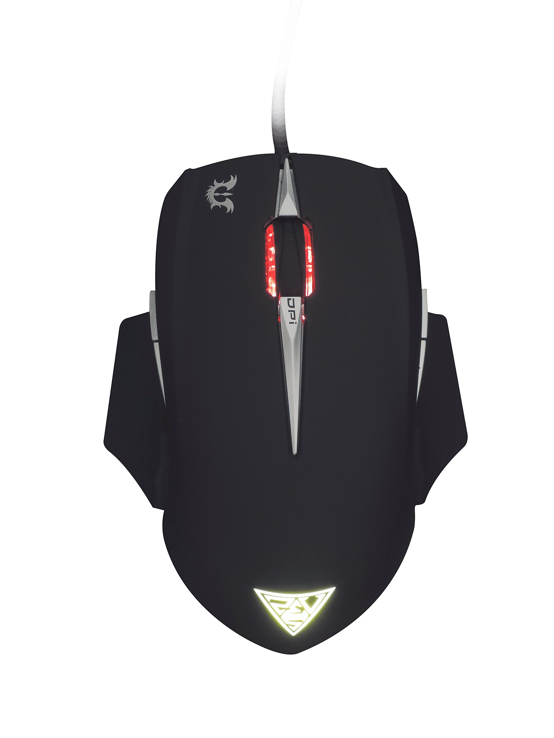 GAMDIAS Erebos GMS7500 Optical MOBA Gaming Mouse, 3 Set Ambidextrous  Adjustable Side Panels Weight System, 7 Programmable Buttons, 8200 DPI for PC by GAMDIAS (Image #9)