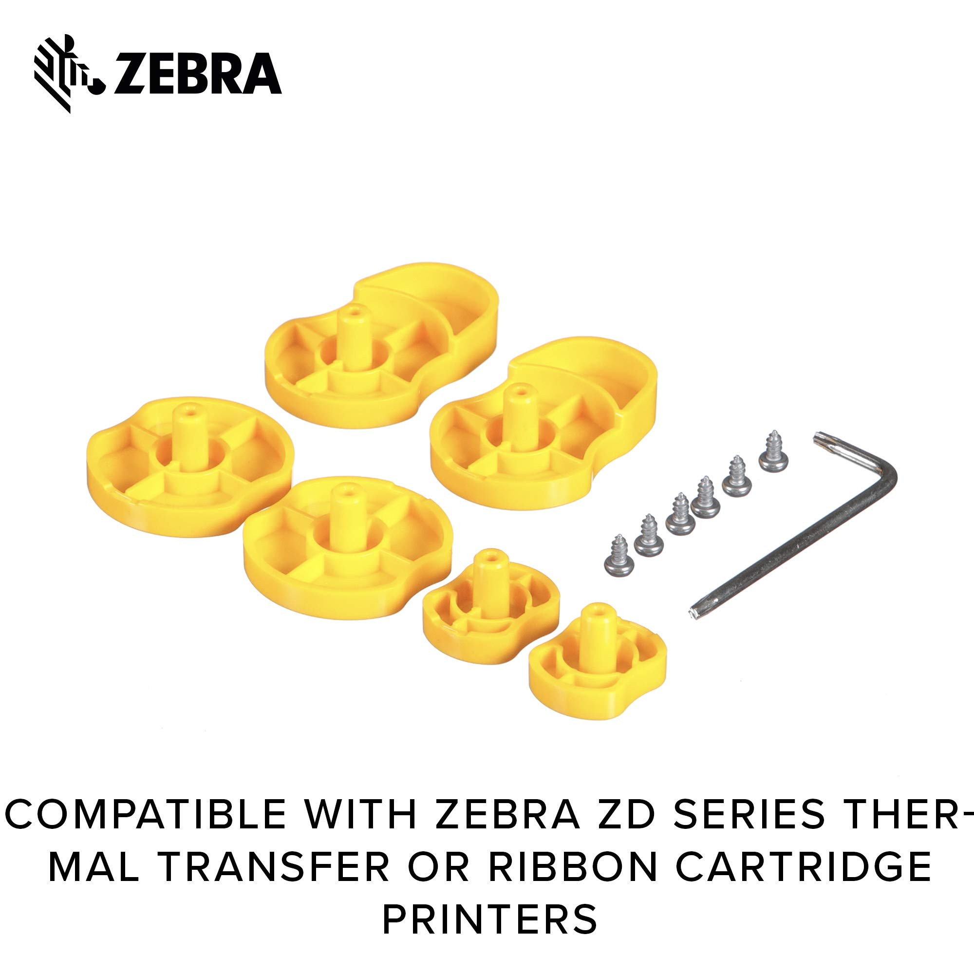 Zebra - Ethernet Module Adapter for ZD420 Direct Thermal Desktop Printer - Field Installable by Zebra Technologies (Image #7)