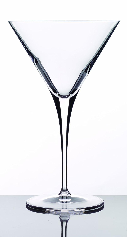 Luigi Bormioli 09558/07 Crescendo 10 Ounce Martini Glasses, Set of 4,Clear Luigi Bormioli Glassware