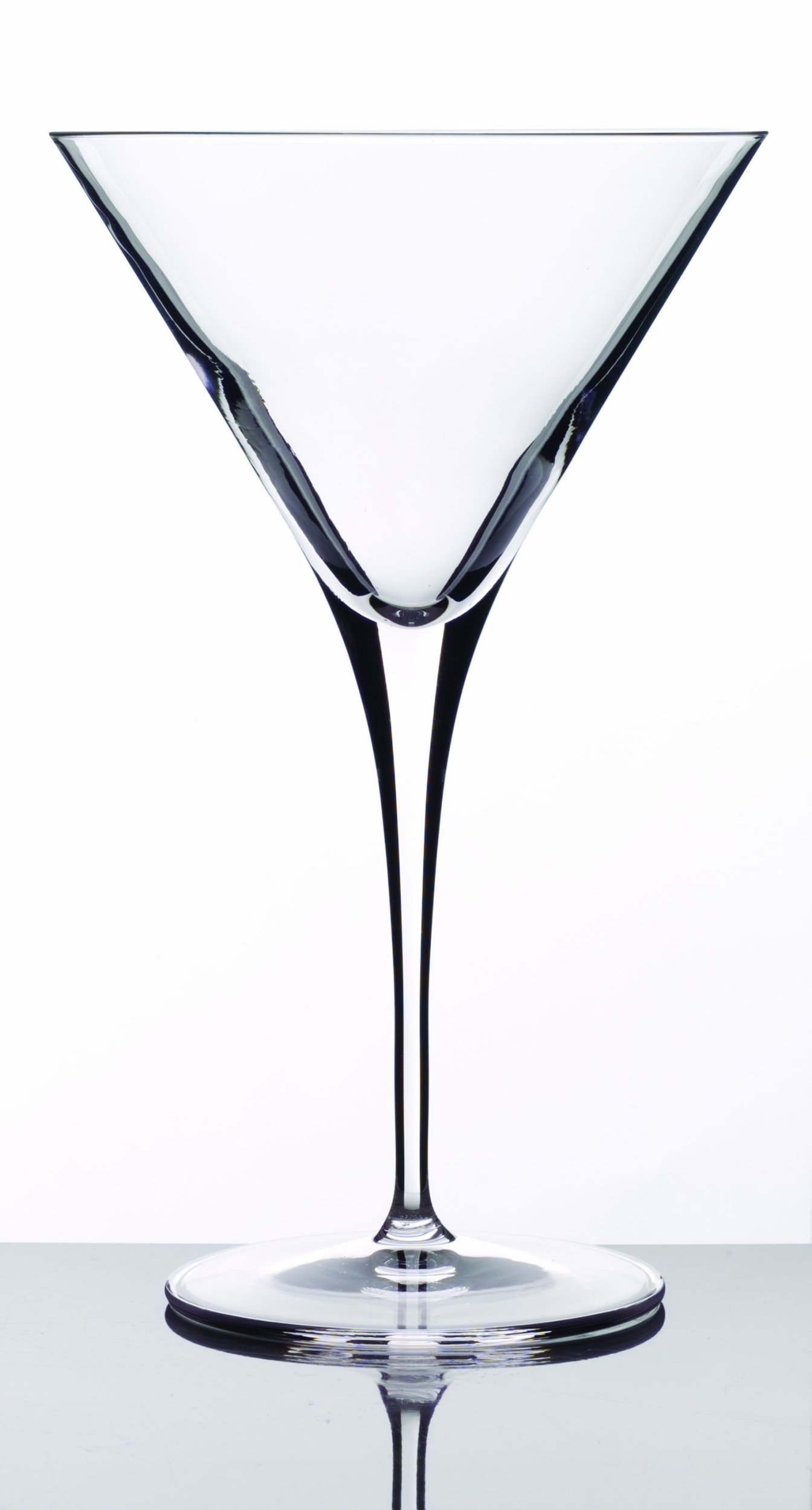 Luigi Bormioli 09558/07 Crescendo 10 Ounce Martini Glasses, Set of 4,Clear by Luigi Bormioli (Image #1)