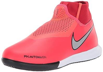 d963b7de1d22 Nike Kids' Phantom Vision Academy Dynamic Fit Indoor Soccer Shoe (1 M US  Little