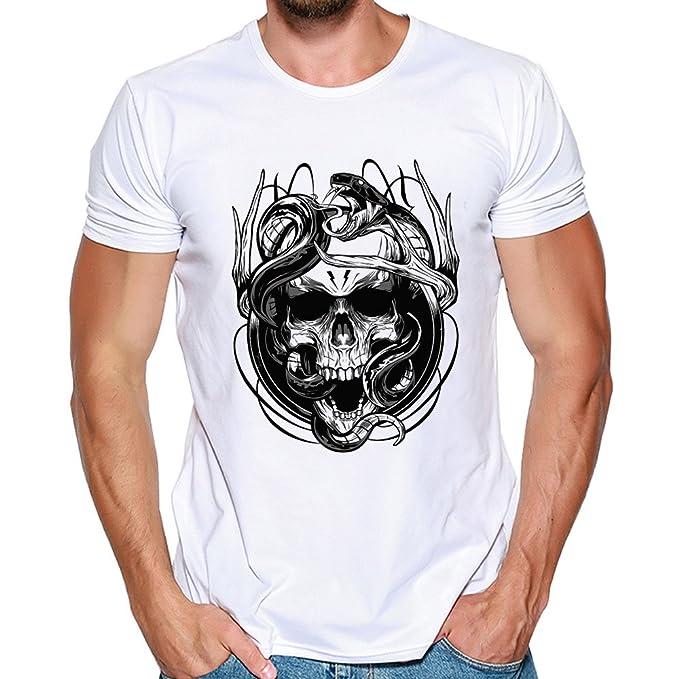 45ada8d12 Manadlian_Camiseta Hombres Manga Corta, Verano Camisetas Manga Corta ...