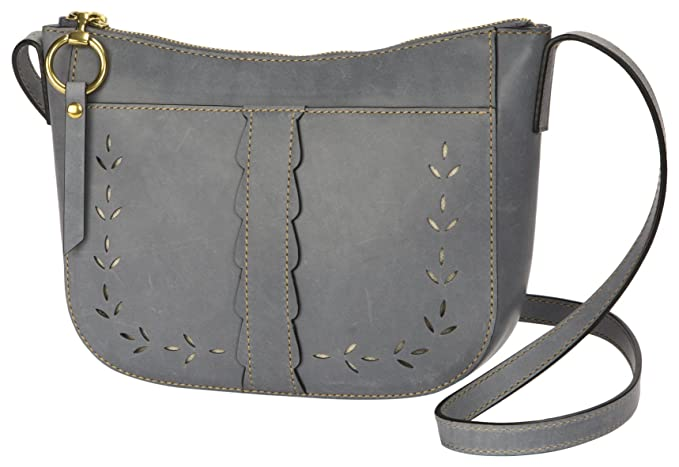FRYE Ilana Crossbody Leather Messenger Bag