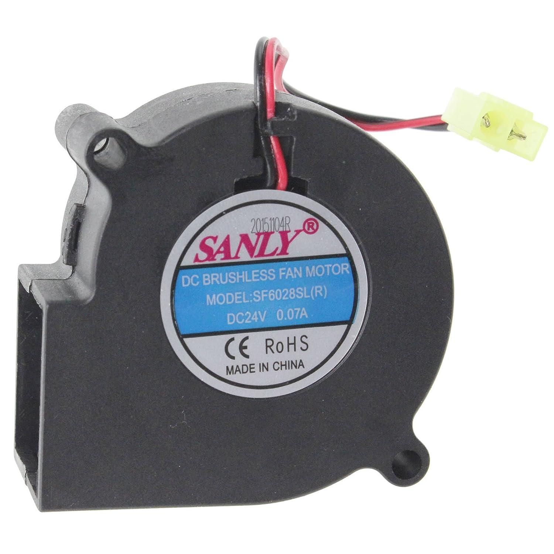 Dimplex SF6028SL(R) Electric Fire Fan Motor Unit (DC 24V)