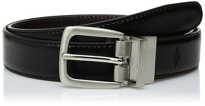 50852e92dc1e9 Dockers Big Boys  Dockers Reversible Black-to-Brown Belt at Amazon Men s  Clothing store  Apparel Belts