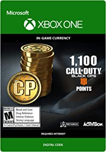 Amazon.com: Call of Duty: COD Points 1100 1100 CP - [Xbox ...