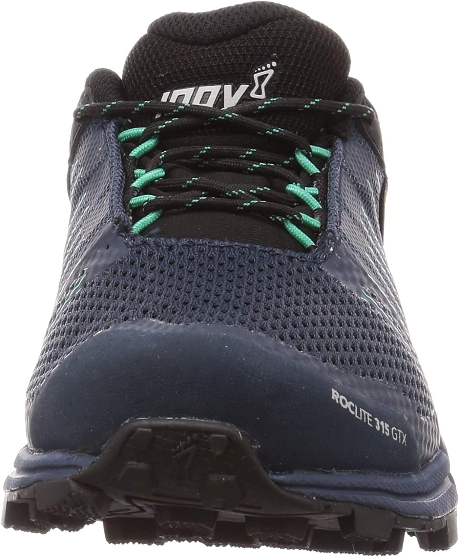 Inov-8 Womens Roclite 315 GTX - Waterproof Gore Tex Hiking Shoes - Lightweight - Vegan Navy/Teal