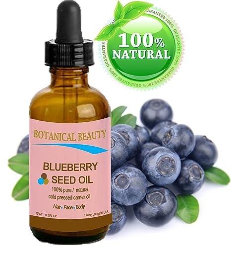 Botánico Belleza semillas de arándanos aceite. 100% puro/Natural/Sin ...