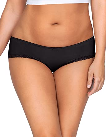 3fcf22840965 Parfait PP501 Women's Panty So Lovely Black Underwear Hipster Brief Small