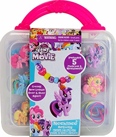 Amazon my little pony necklace activity set toys games my little pony necklace activity set mozeypictures Images